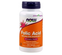 FOLIC ACID 800mcg ACIDO FOLICO NOW 250 COMP.