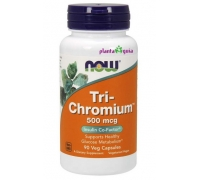 TRI-CHROMIUM 500 mcg 90 CAPSULAS - NOW FOODS