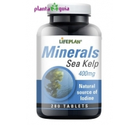 Sea Kelp 400mg 280 comp Lifeplan