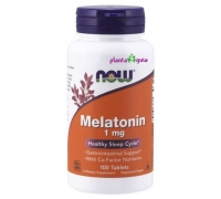 Melatonina c/ Co-fatores 1 mg 100 comprimidos - NOW FOODS