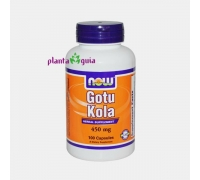 GOTU KOLA 450mg 100 CAPSULAS NOW