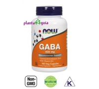 GABA 500 mg | 100 Cápsulas vegetais - NOW FOODS