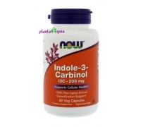 INDOLE 3 CARBINOL 200 mg – NOW FOODS – 60 CÁPSULAS