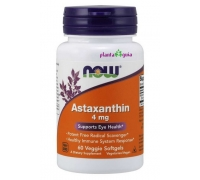 ASTAXANTHIN 4mg 60 CAPSULAS NOW FOODS