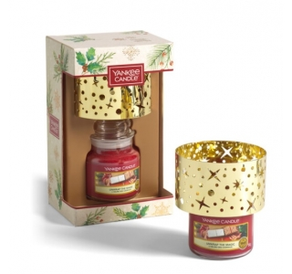 Yankee Candle Coffret Natal - Jarro pequeno + candeeiro
