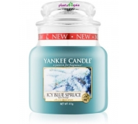 Icy Blue Spruce 411g - Jarro Médio Yankee Candle