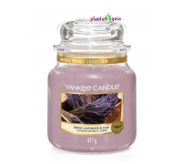 Dried Lavender & Oak 411g - Jarro Médio Yankee Candle