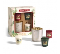 Yankee Candle Coffret Natal - Magical Christmas Morning Votive