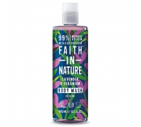 Gel de Banho Lavanda & Gerânio 400 ml - Faith in Nature