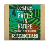 Shampoo Sólido Coco e Manteiga de Karité Faith In Nature