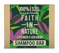 Shampoo Sólido Lavanda e Gerânio Faith In Nature